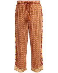 Talitha - Tutsi Scarf Print Trousers - Lyst