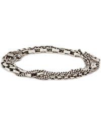 Title Of Work - Sterling Silver Wraparound Bracelet - Lyst