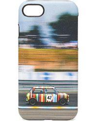 Paul Smith Mini レザー Iphone 8 ケース - ブラック