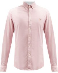 Polo Ralph Lauren コットンオックスフォード シャツ - ピンク
