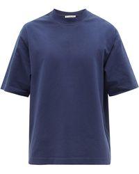 Acne Studios エクスター コットンtシャツ - ブルー
