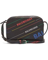 Balenciaga - Everyday Xs Leather Cross Body Bag - Lyst