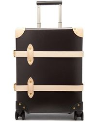 Globe-Trotter Safari 20'' Carry-on Suitcase - Brown