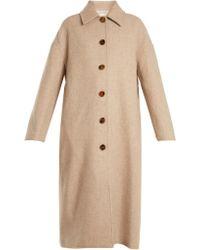 Khaite - Carolina Single-breasted Wool Coat - Lyst
