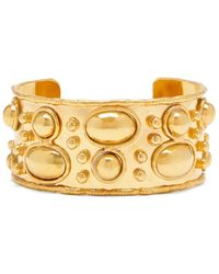 Sylvia Toledano Embellished Brass Cuff - Metallic