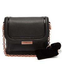 Sophia Webster - Claudie Bow-embellished Leather Cross-body Bag - Lyst
