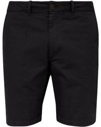 Saturdays NYC Tommy Cotton Chino Shorts - Black