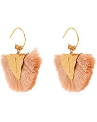 Elise Tsikis - Agia Tassled Earrings - Lyst
