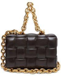 Bottega Veneta The Chain Cassette Intrecciato-leather Bag - Multicolour
