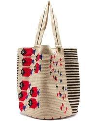 Guanabana Maximus Geometric-fish Tote Bag - Multicolour