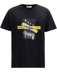 Givenchy - フォトプリント コットンtシャツ - Lyst