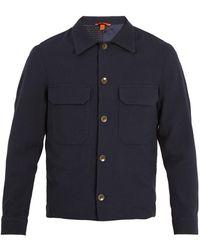 Barena - Pocket-detail Gingham Cotton-blend Jacket - Lyst