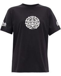Vetements コットンtシャツ - ブラック