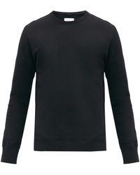 Reigning Champ Sweat-shirt en coton éponge à empiècement logo - Multicolore