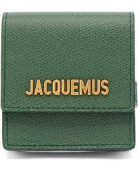 Jacquemus レザーコインケース ブレスレット - グリーン