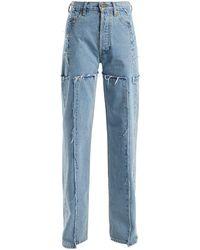 Vetements High-rise Straight Leg Jeans - Blue