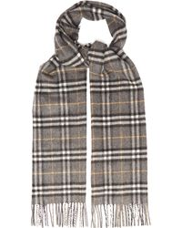 Burberry - Écharpe en cachemire Vintage check - Lyst