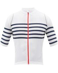 Café du Cycliste Mona Striped-jersey Cycling Top - Multicolour