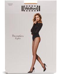 Wolford | Twenties Micro-net Tights | Lyst