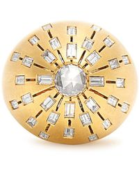 Susan Foster - Diamond & Yellow-gold Ring - Lyst