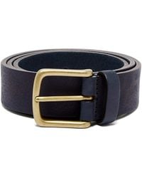 Andersons - Pebbled Leather Belt - Lyst