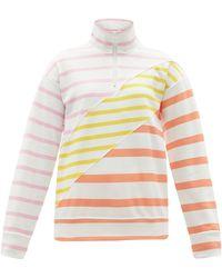 Solid & Striped - ザ プルオーバー カラーブロック スウェットシャツ - Lyst