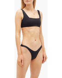 DOS GARDENIAS Rio Low-rise Bikini Briefs - Black