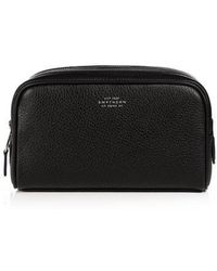 Smythson - Burlington Small Leather Washbag - Lyst