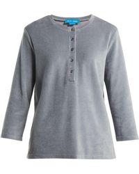 M.i.h Jeans - Ashley Cotton-blend Top - Lyst