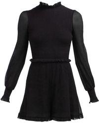Zimmermann - Primrose Cotton And Silk Blend Playsuit - Lyst
