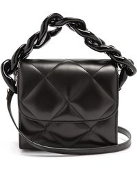 Marques'Almeida - Oversized Curb-chain Quilted Leather Shoulder Bag - Lyst