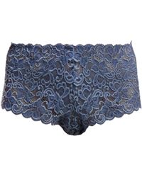 Hanro - Moments Floral-lace High-rise Briefs - Lyst