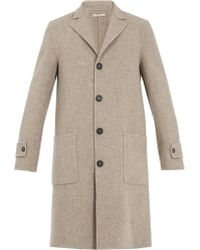 Massimo Alba - Single-breasted Wool Coat - Lyst