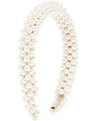 Shrimps Antonia Faux-pearl Headband - Multicolour