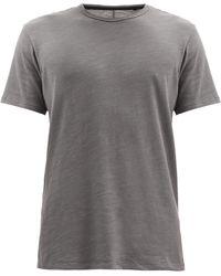 Rag & Bone フレーム スラブコットンtシャツ - グレー