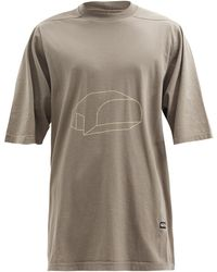 Rick Owens Drkshdw - プロング コットンtシャツ - Lyst