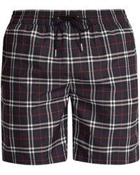 Burberry - Drawcord Swim Shorts - Lyst