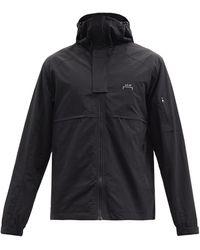 A_COLD_WALL* * テクニカル フーデッドジャケット - ブラック
