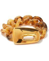 Marni Bracelet chaîne en résille écaille de tortue - Multicolore