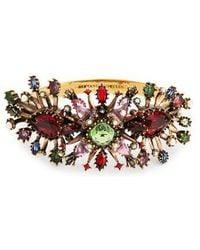 Alexander McQueen - - Rose Embellished Cuff - Womens - Multi - Lyst