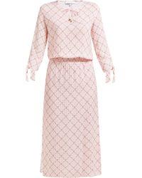 Heidi Klein Tybee Island Printed Jersey Dress - Pink