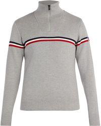 Fusalp - Wengen Ii Striped Wool Sweater - Lyst