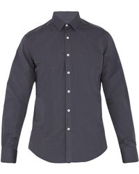 Lanvin - Single-cuff Cotton-blend Shirt - Lyst