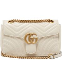 Gucci - GG Marmont Mini Quilted Leather Shoulder Bag - Lyst