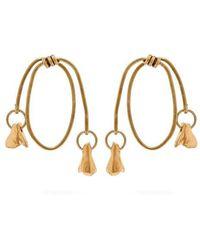 Marni - Twisted Hoop Earrings - Lyst
