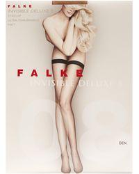 Falke Bas autofixants Invisible Deluxe 8 - Multicolore