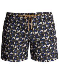 Thorsun Titan Fit Sol Print Swim Shorts - Blue