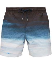 Marané Short de bain technique Cielo - Bleu