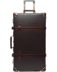 """Globe-Trotter Centenary 30"""" Suitcase - Brown"""