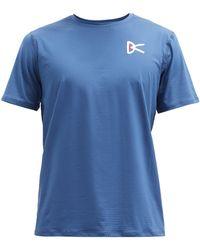 District Vision エア ウェア Tシャツ - ブルー
